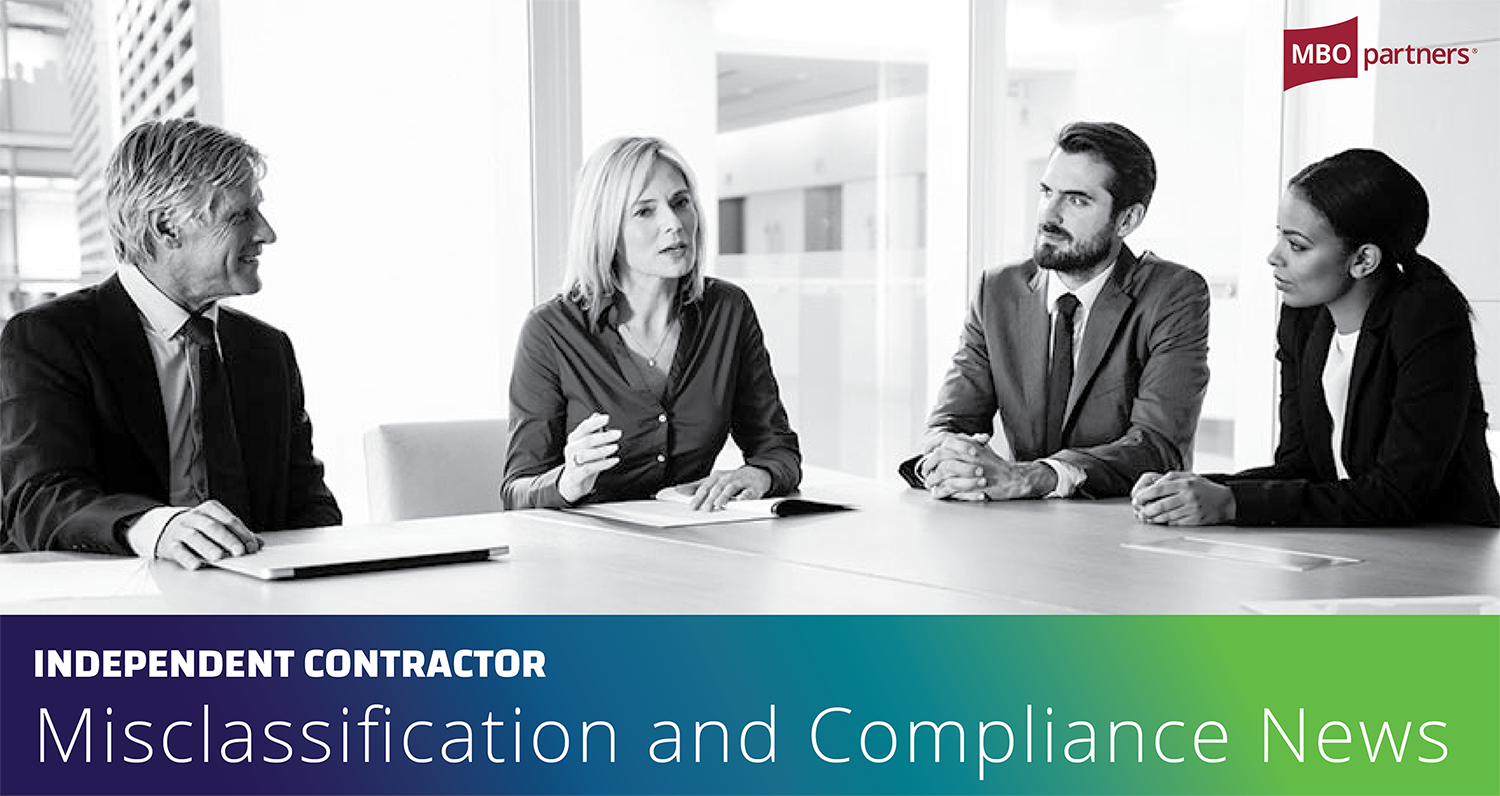 Independent Contractor Misclassification and Compliance News June 2021