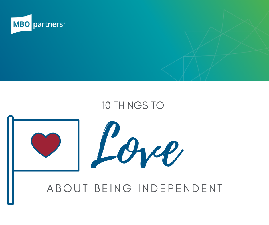 10 Things to Love about Being Independent