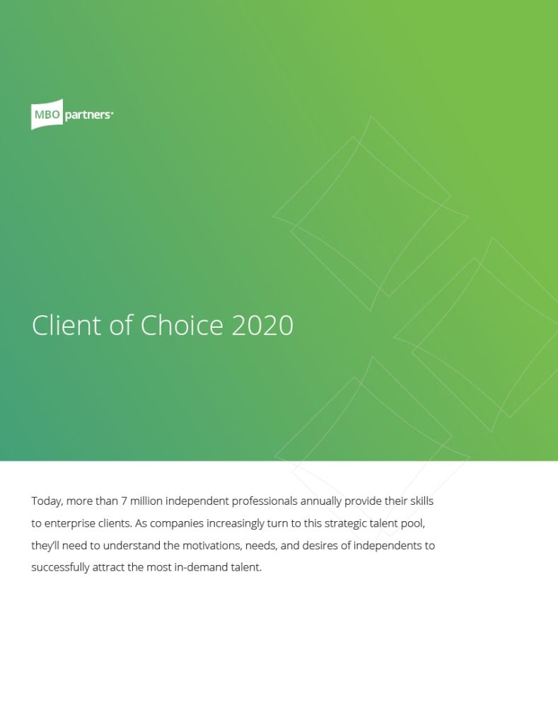 Client of choice cover 2020