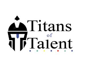 Titans of Talent Podcast Logo