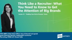 Think like a recruiter - Amy O'Donnell