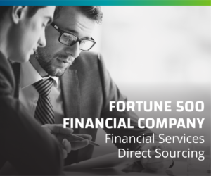 Leading Financial Services Provider Realizes Cost Savings, Risk Mitigation and Planned Future Program Growth via Direct Sourcing