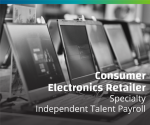 American Multinational Consumer Electronics Retailer Finds a Way to Keep Independent Talent Working Independently