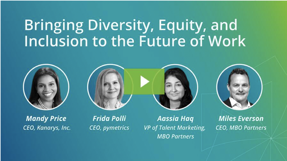 Webinar Recap: Bringing Diversity, Equity, and Inclusion to the Future of Work