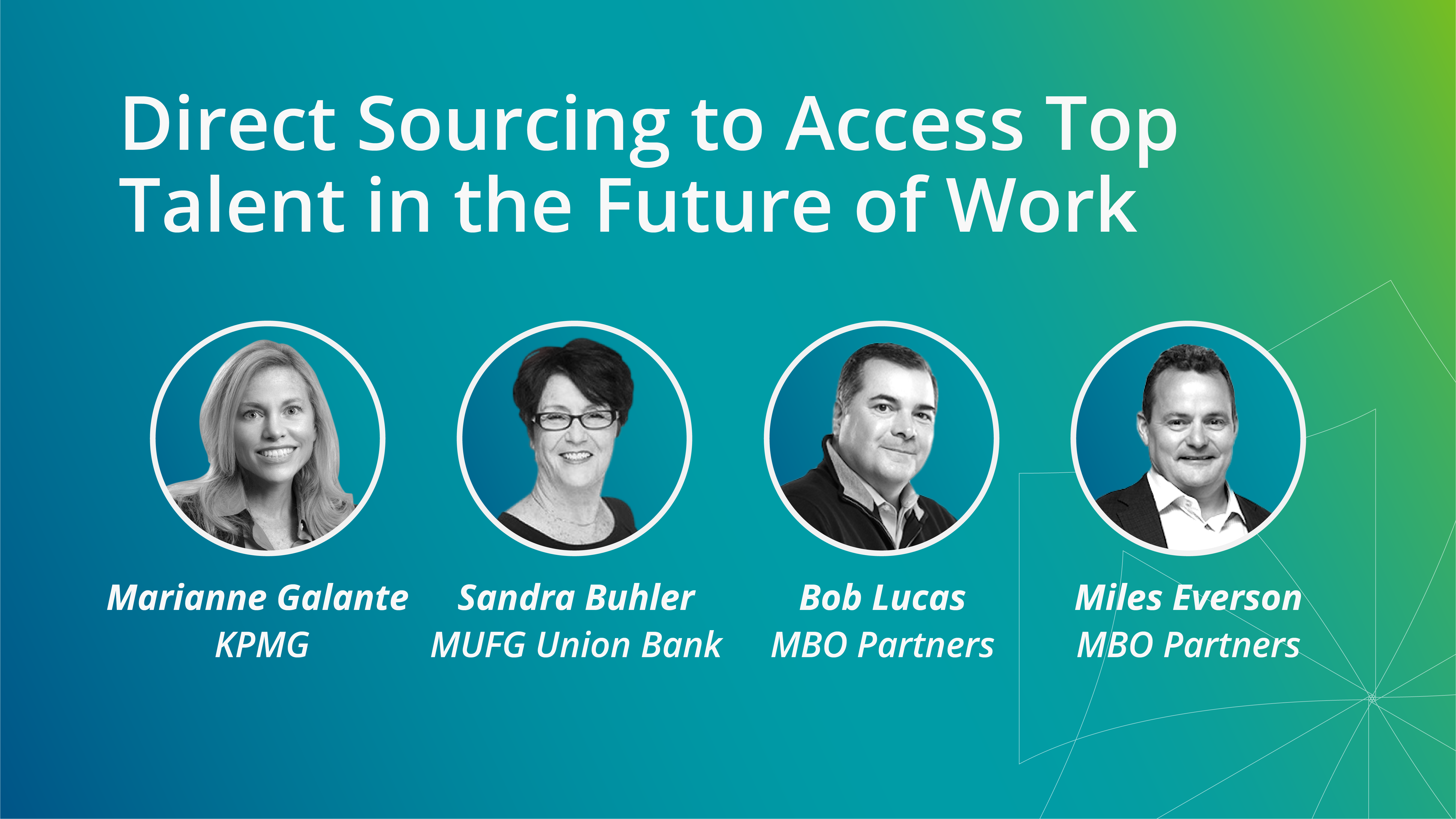 Direct Sourcing to Access Top Talent in the Future of Work