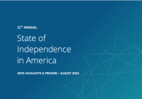 2021 State of Independence report